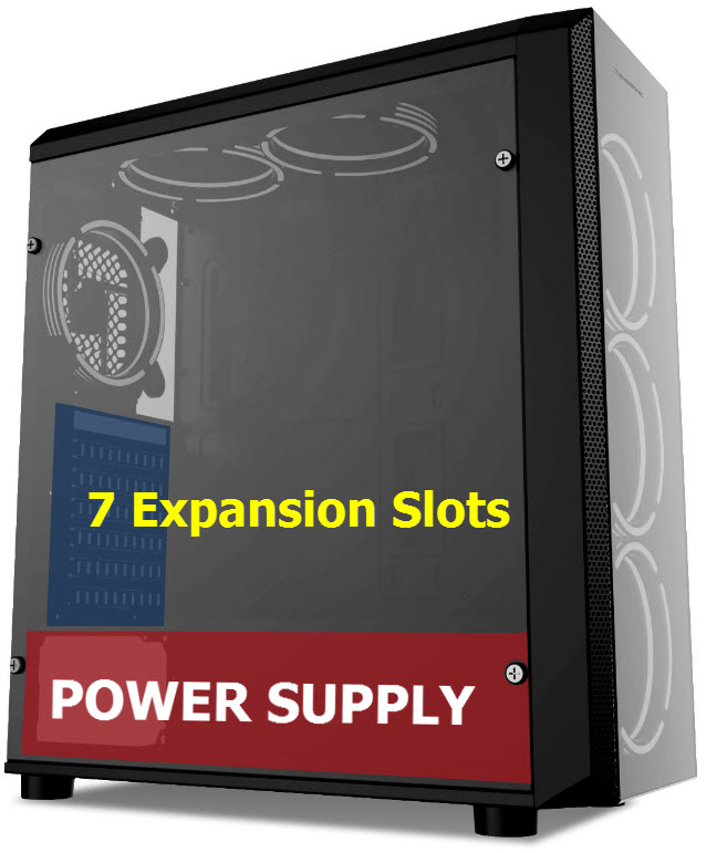 Power Supply Expand Slots